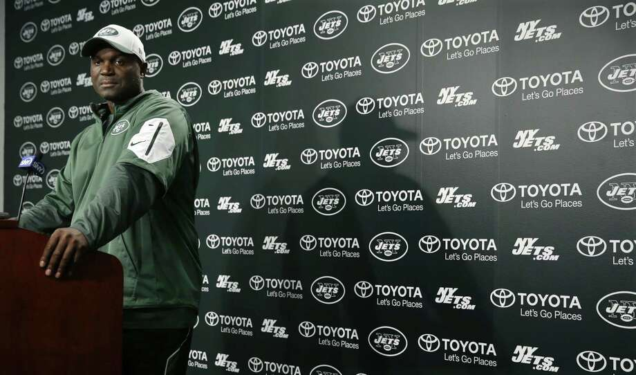 New York Jets head coach Todd Bowles listens to a question after practice on Monday in Florham Park, N.J. Photo: Mel Evans — The Associated Press  / AP