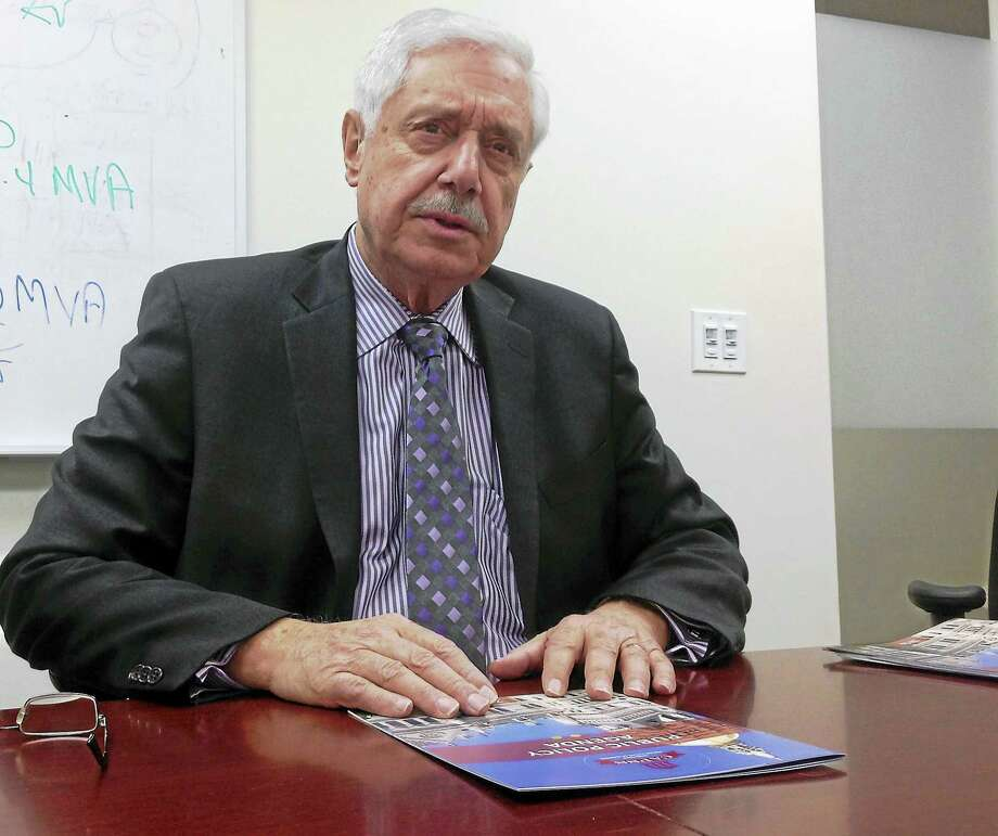 Connecticut Association of Public School Superintendents Executive Director Joseph J. Cirasuolo speaks to the New Haven Register Editorial Board about the organization and its agenda for 2016. Photo: Journal Register Co.