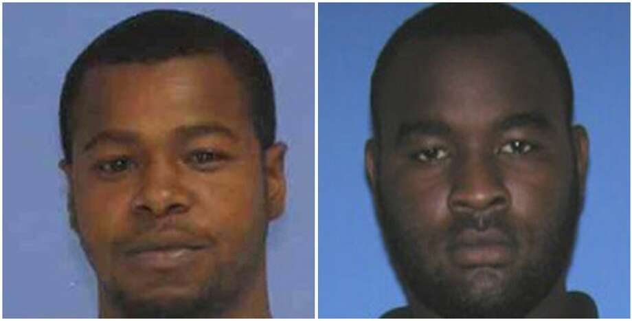 This combination of undated photos released the Mississippi Bureau of Investigation shows, Marvin Banks, left, and his brother Curtis Banks. The brothers are wanted in the fatal shooting of two Hattiesburg, Miss., police officers on Saturday, May 9, 2015.  (Mississippi Bureau of Investigation via The Hattiesburg Police Department via AP) Photo: AP / Mississippi Bureau of Investigation via TheMississippi Bureau of