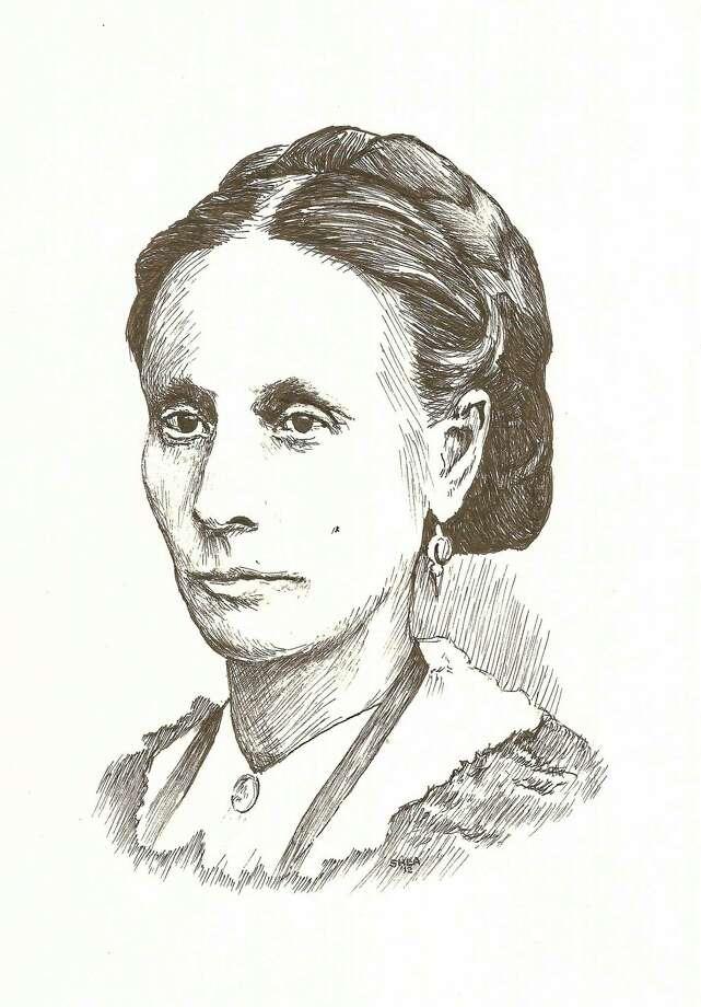"Illustration of Lydia Sherman courtesy of ""Greg Shea Creations"" Photo: Journal Register Co."