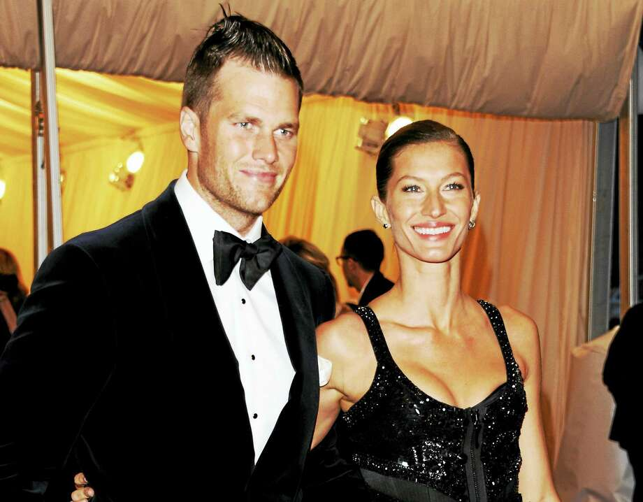Tom Brady and his wife revealed their super-healthy eating habits this week, and Register columnist Chip Malafronte agrees it sounds like a good way to stay trim. His only problem is hiring the expensive personal chef which would keep his wallet even more trim. Photo: The Associated Press File Photo  / AGOEV