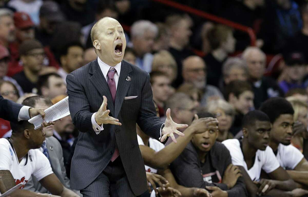 Cincinnati head coach Mick Cronin will not be on the sideline Saturday when the Bearcats play UConn at the XL Center.