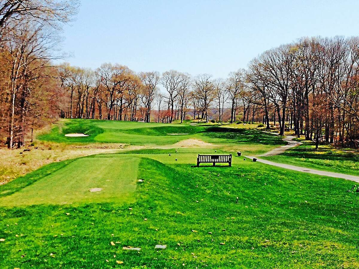 Two new back tees at 15 make the hole play longer over a deep bunker that guards the right side of the green.