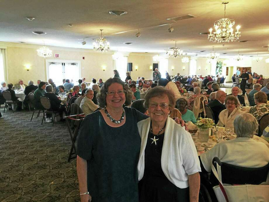 The Winsted Senior Center community celebrated its 50th anniversary Friday at and event in Torrington. Photo: Ben Lambert – The Register Citizen