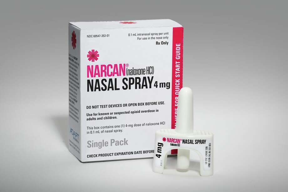 Narcan nasal spray Photo: Matthew Rakola / Matthew Rakola