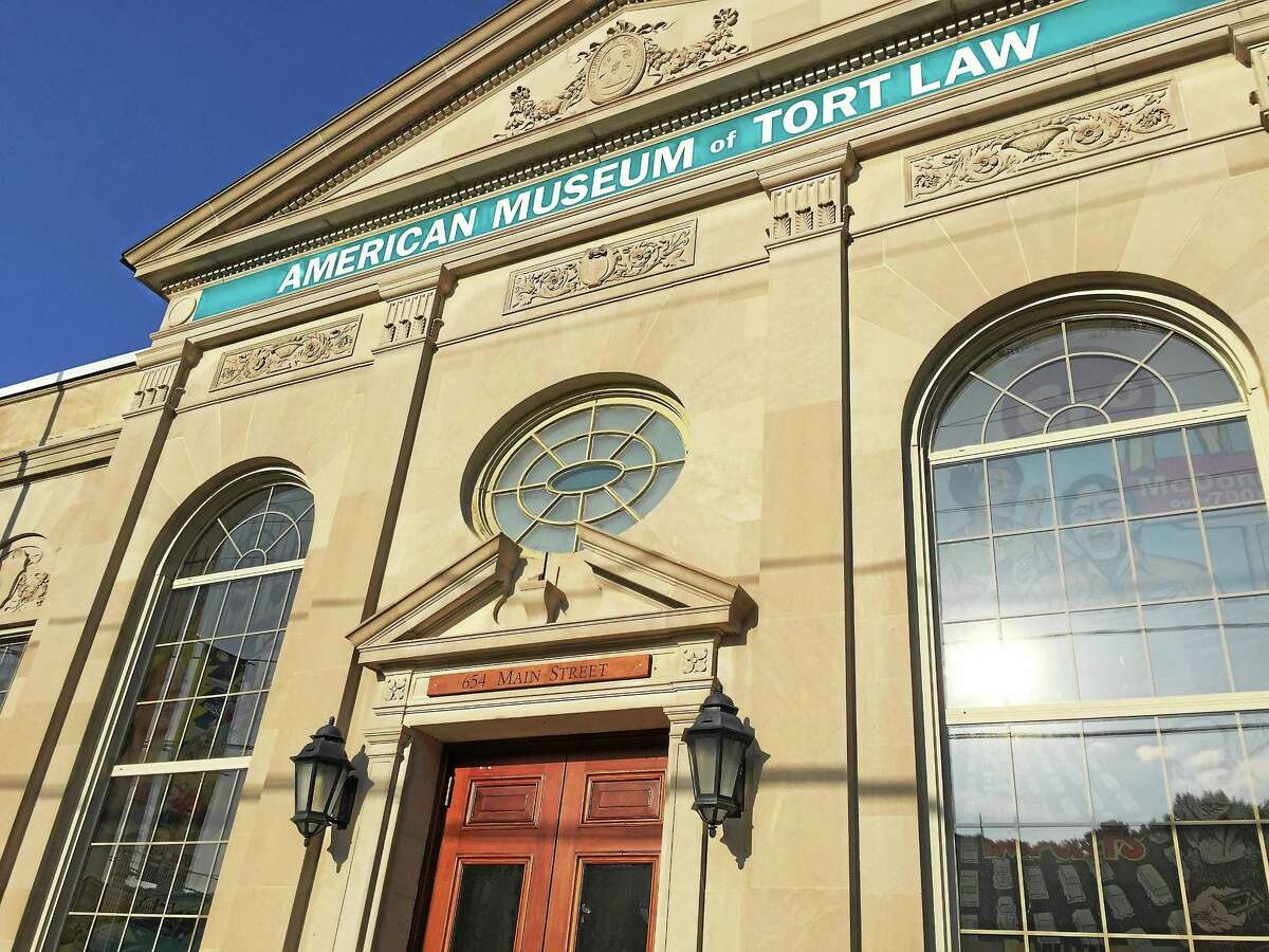 Signage has recently been installed at the American Museum of Tort Law, at 654 Main St. in Winsted.