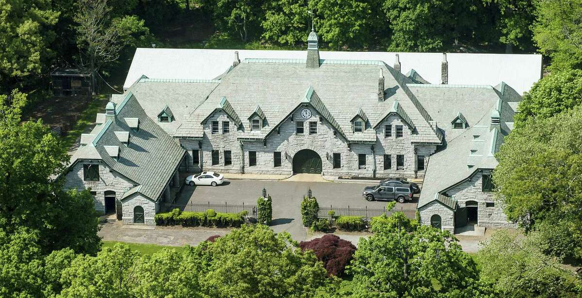 One of the homes of a 63-acre estate sits on Great Island in Long Island Sound in Darien. The property went on sale Thursday, Sept. 15, 2016, with an asking price of $175 million. Industry experts said that would easily break a record for the most ever paid for a residential property in the United States. Since about 1900, the property has belonged to the family and descendants of William Ziegler, an industrialist who made his fortune in baking powder.
