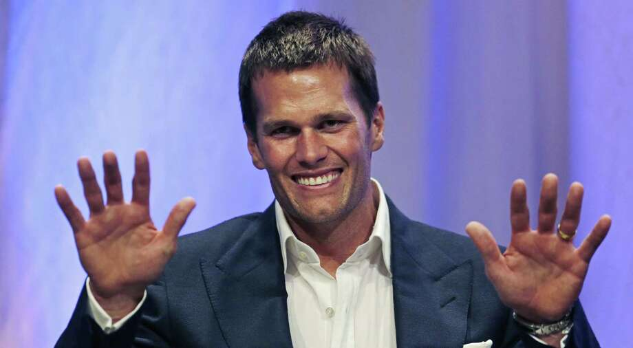 """An investigation found New England Patriots quarterback Tom Brady was """"at least generally aware"""" team employees likely deflated footballs. Register sports columnist Chip Malafronte wants an investigation into why we need so many rules, both in sports and in life, in the first place. Photo: Charles Krupa — The Associated Press  / Pool AP"""