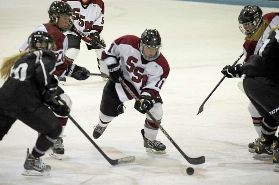 Sandy Hook native and USA Today Girls Hockey National Player of the Year Melissa Samoskevich is heading home to play college hockey at Quinnipiac. Photo: Photo Courtesy Of Shattuck-St. Mary's
