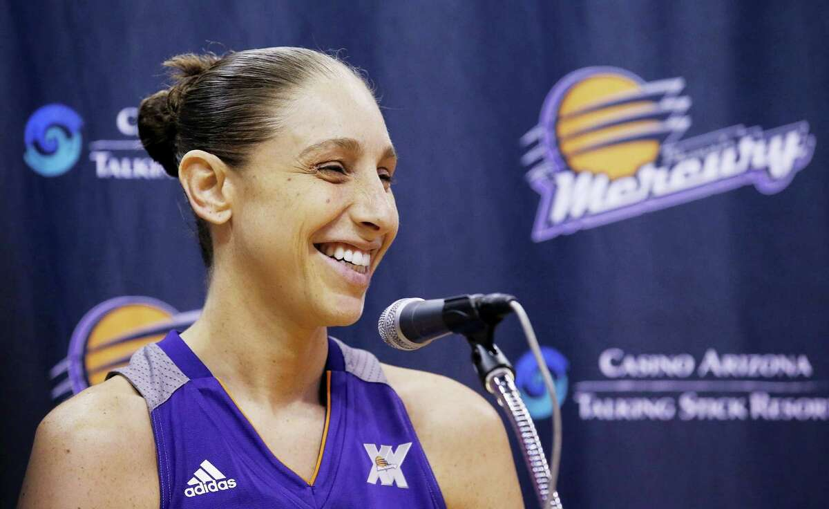 Diana Taurasi is back for the Phoenix Mercury after sitting out last year to rest.
