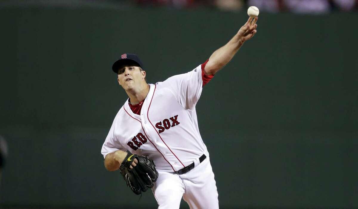 Red Sox starting pitcher Drew Pomeranz.