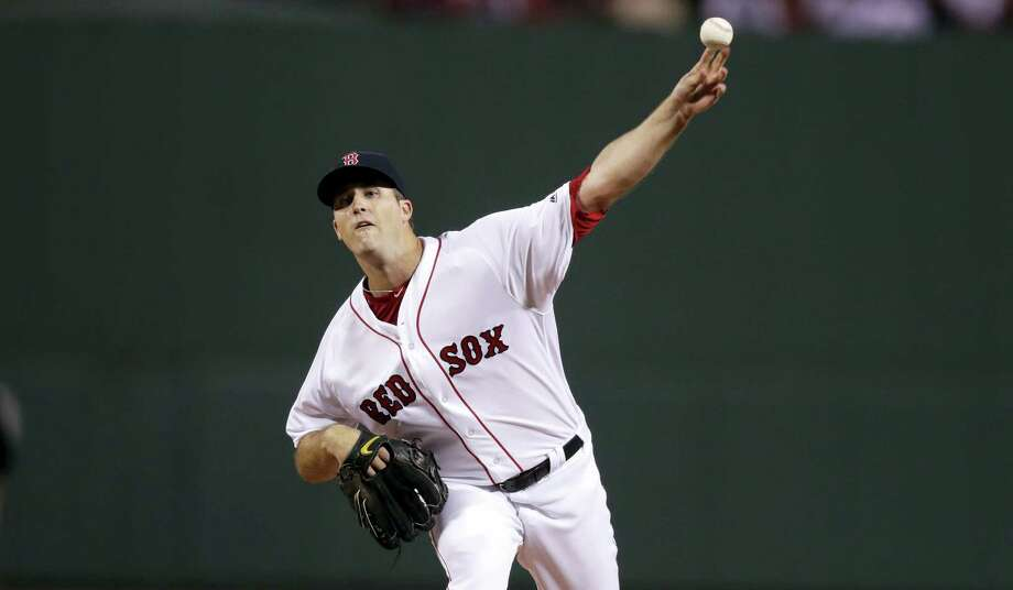 Red Sox starting pitcher Drew Pomeranz. Photo: Charles Krupa — The Associated Press  / AP
