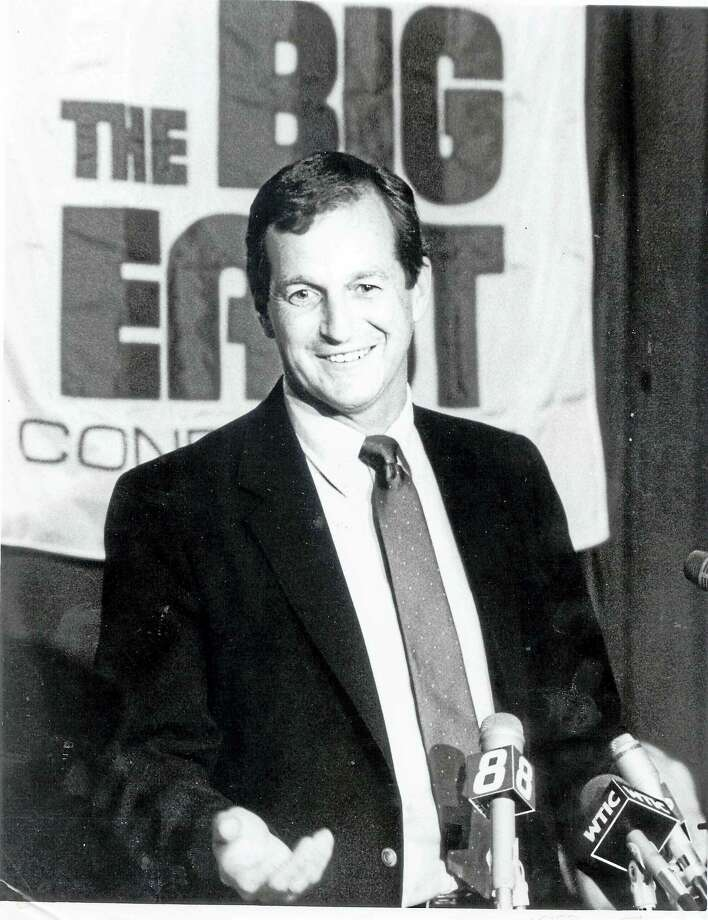 Jim Calhoun was named coach of the UConn men's basketball team on May 15, 1986. Photo: Photo Courtesy Of University Of Connecticut