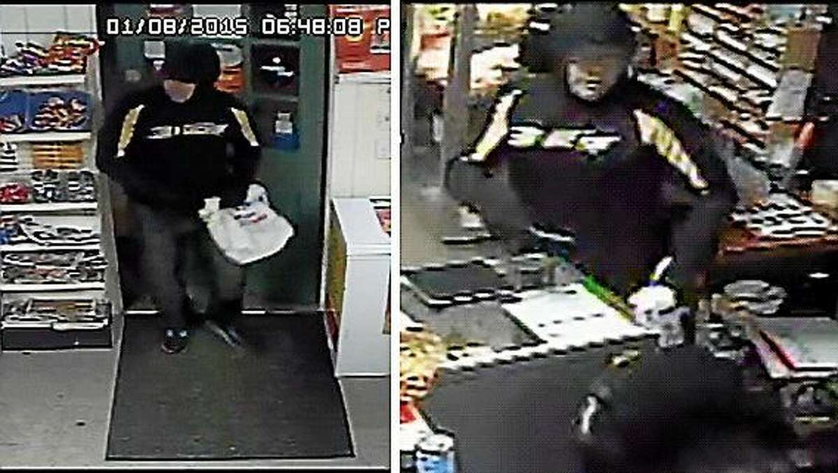 Torrington police department Police are looking for help identifying this man who robbed La Cuencanita Market at knifepoint on Thursday evening. Anyone who might have information is asked to call 860-489-2000.