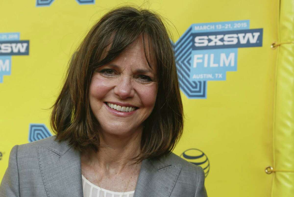 """In this March 14, 2015 file photo, Sally Field attends the """"Hello, My Name is Doris"""" red carpet during the South by Southwest Film Festival in Austin, Texas. Field is one of several artists who will receive the National Medal of Arts from President Barack Obama at a White House ceremony. The president and first lady Michelle Obama will present the award Sept. 10, 2015 to Field and 11 others."""