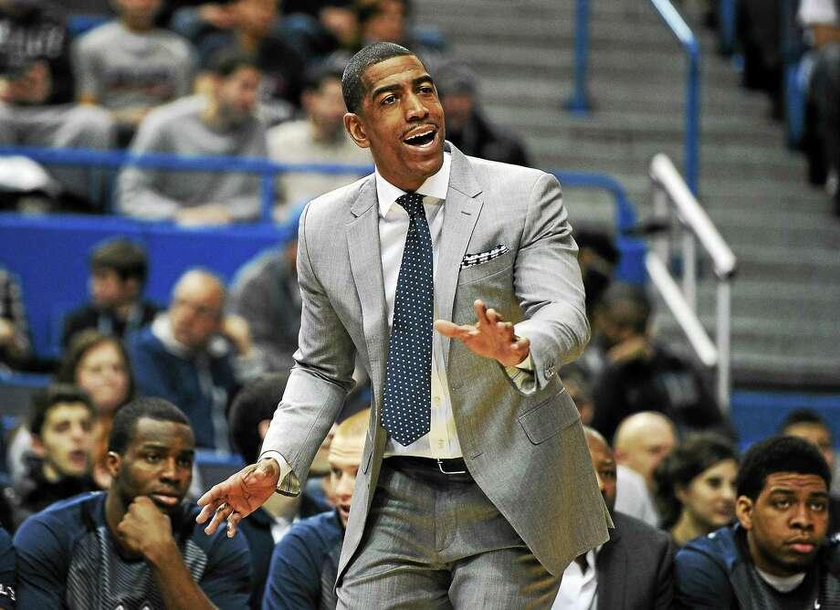 UConn head coach Kevin Ollie landed top 30 recruit Juwan Durham. Photo: Jessica Hill — The Associated Press File Photo  / FR125654 AP