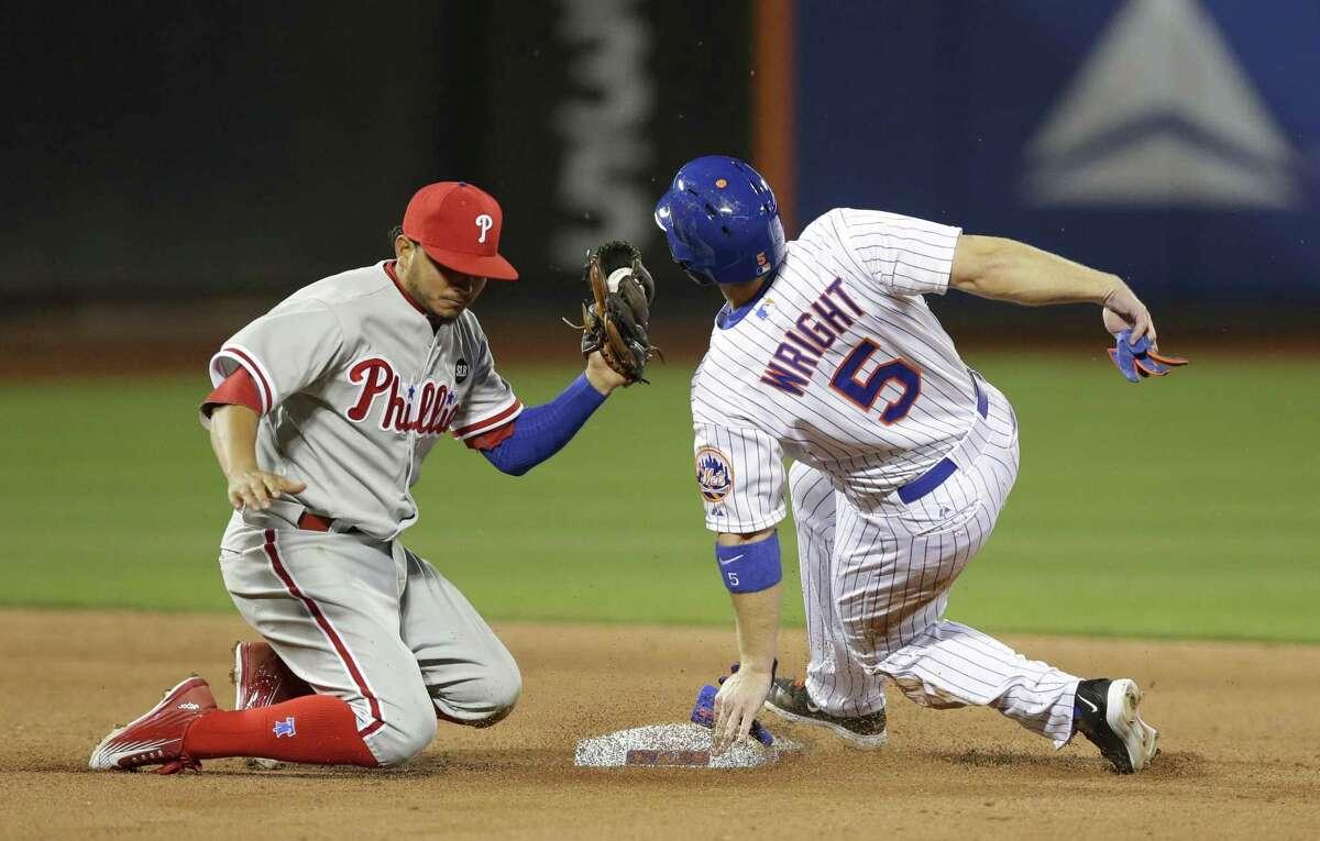 New York Mets third baseman David Wright has been temporarily shut down.