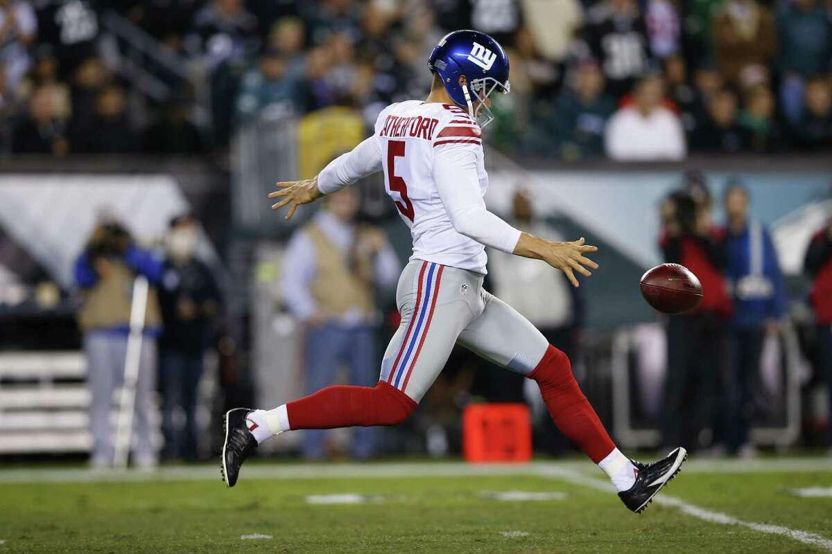 The New York Giants released popular punter Steve Weatherford on Friday.
