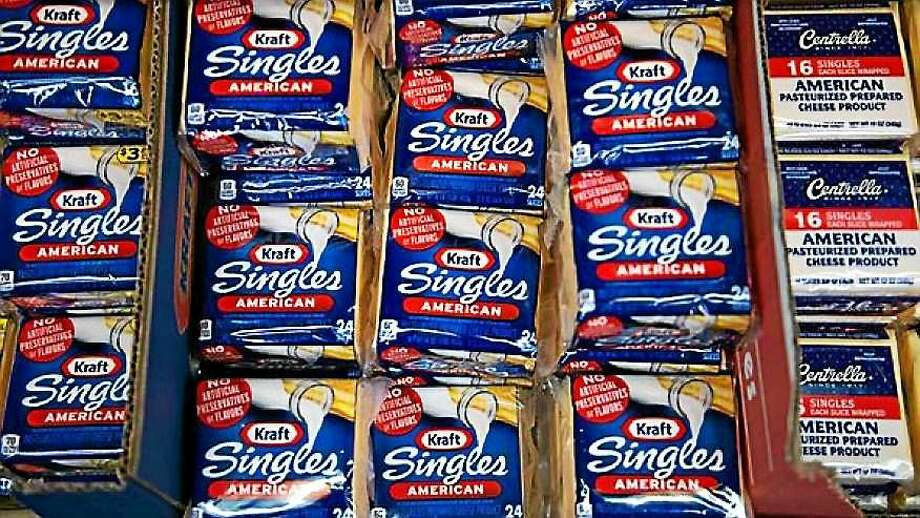 Kraft Singles packages Photo: AP Photo