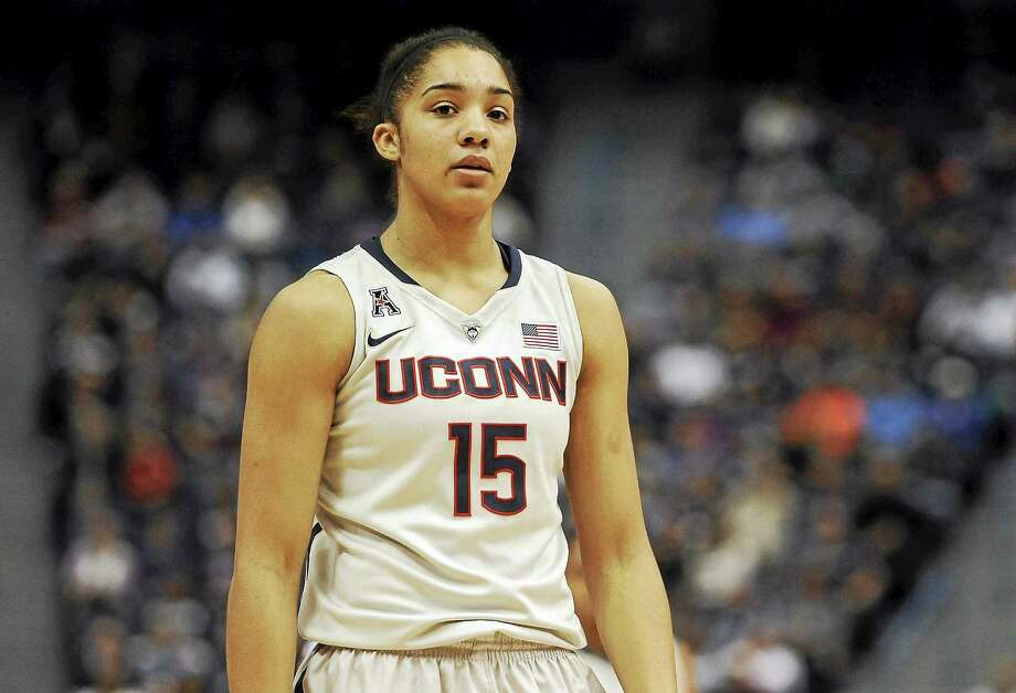 UConn freshman Gabby Williams registered career highs in points and rebounds in Wednesday night's 98-60 win over Tulsa. Photo: Jessica Hill — The Associated Press  / AP2014