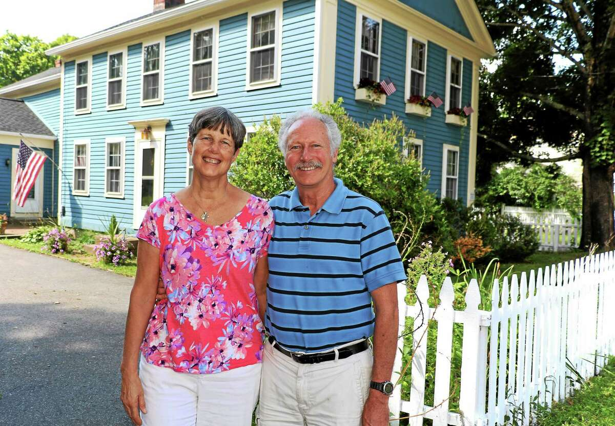 John and Gerry McGuirk are opening Hand & Heart B&B at 5 Main St. in Riverton.