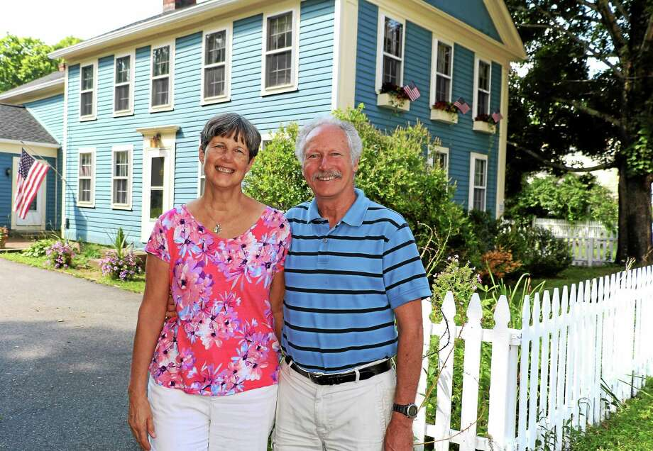John and Gerry McGuirk are opening Hand & Heart B&B at 5 Main St. in Riverton. Photo: John Fitts — The Register Citizen