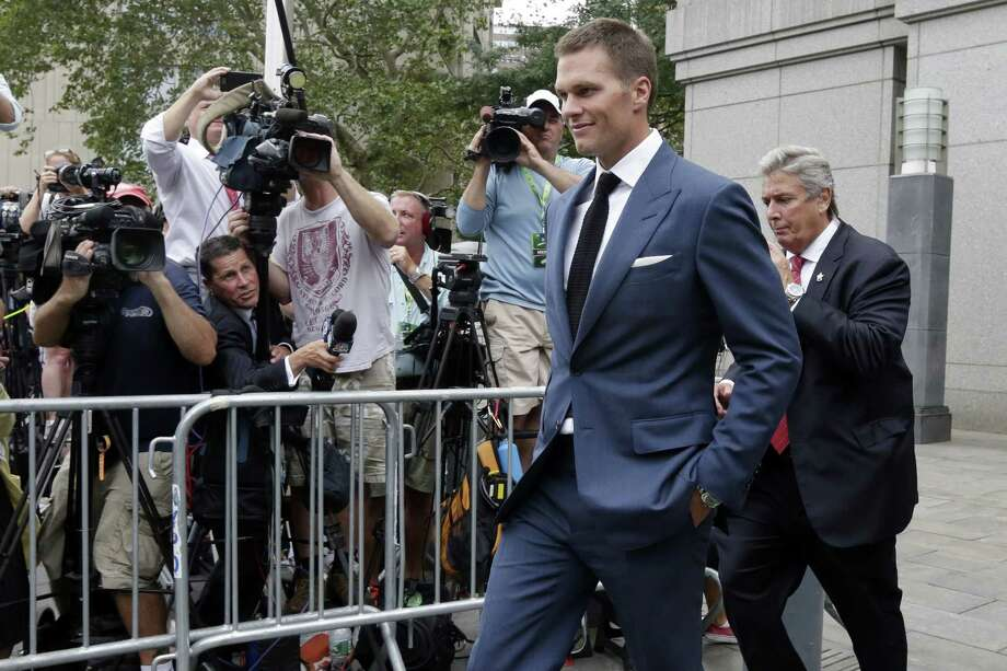 New England Patriots quarterback Tom Brady can suit up for his team's season opener after a judge erased his four-game suspension for Deflategate on Thursday. Photo: Richard Drew — The Associated Press File Photo  / AP