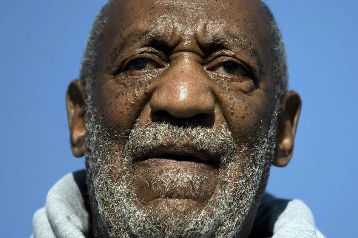 FILE - In this Nov. 11, 2014, file photo, comedian and Navy veteran Bill Cosby speaks during a Veterans Day ceremony in Philadelphia. A federal judge will hear arguments Thursday, May 7, 2015, in U.S. District Court in Worcester, Mass., in a defamation lawsuit filed by three women who allege Cosby sexually assaulted them decades ago. The suit applies solely to the defamation allegation and will focus on a request by the women's lawyers to subpoena records from the lawyer of another Cosby accuser. Cosby, who has a home in western Massachusetts, has not been charged with any crime. (AP Photo/Matt Rourke, File)