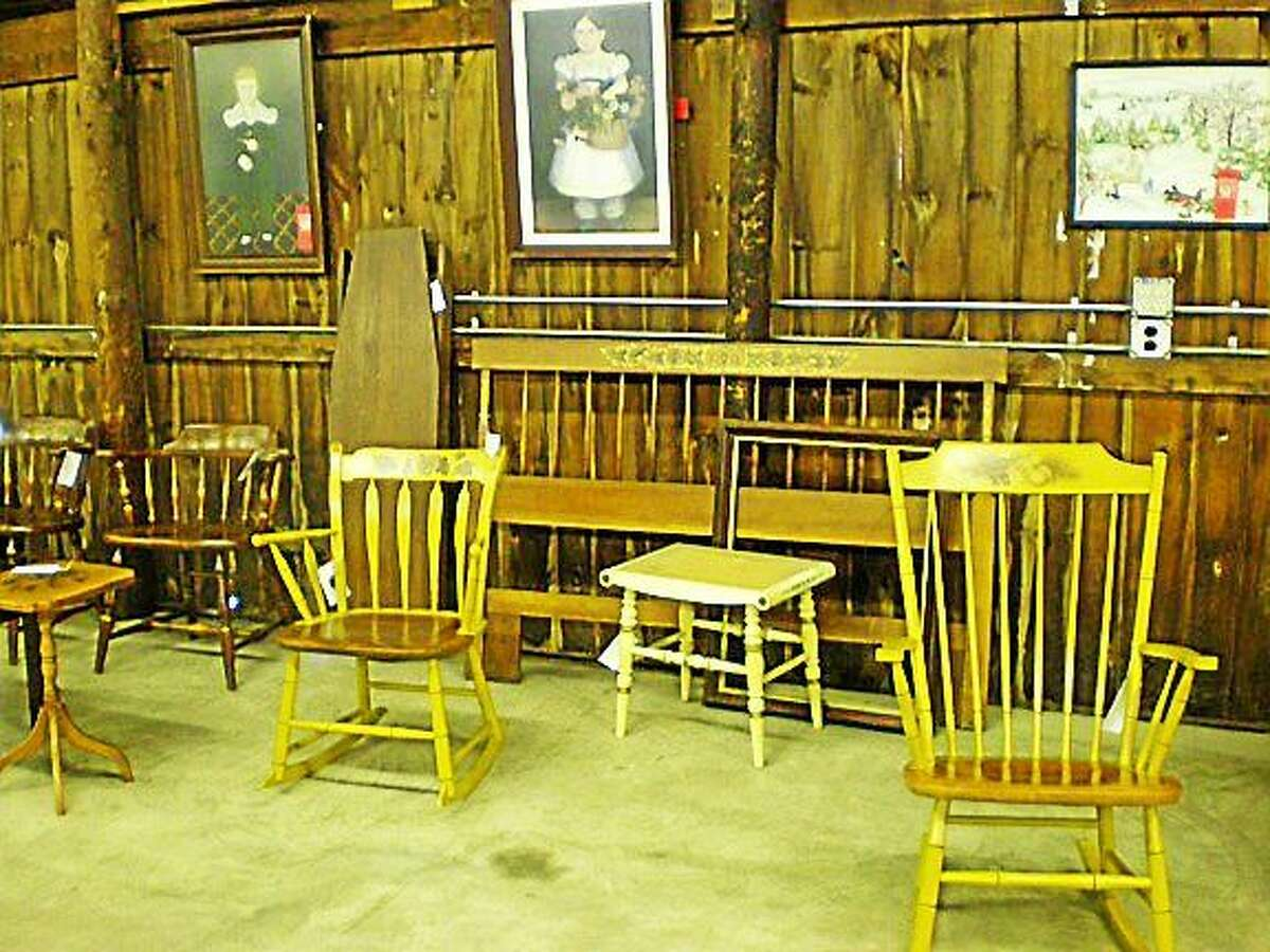 Contributed photo Celebrating five years of being re-opened, Hitchcock Chair will host its annual Memorial Day Barn Sale, rain or shine, in the main barn at the Riverton Fairgrounds and at the retail store at 13 Riverton Road on Saturday, May 23, through Monday, May 25, from 10 a.m. to 5 p.m.