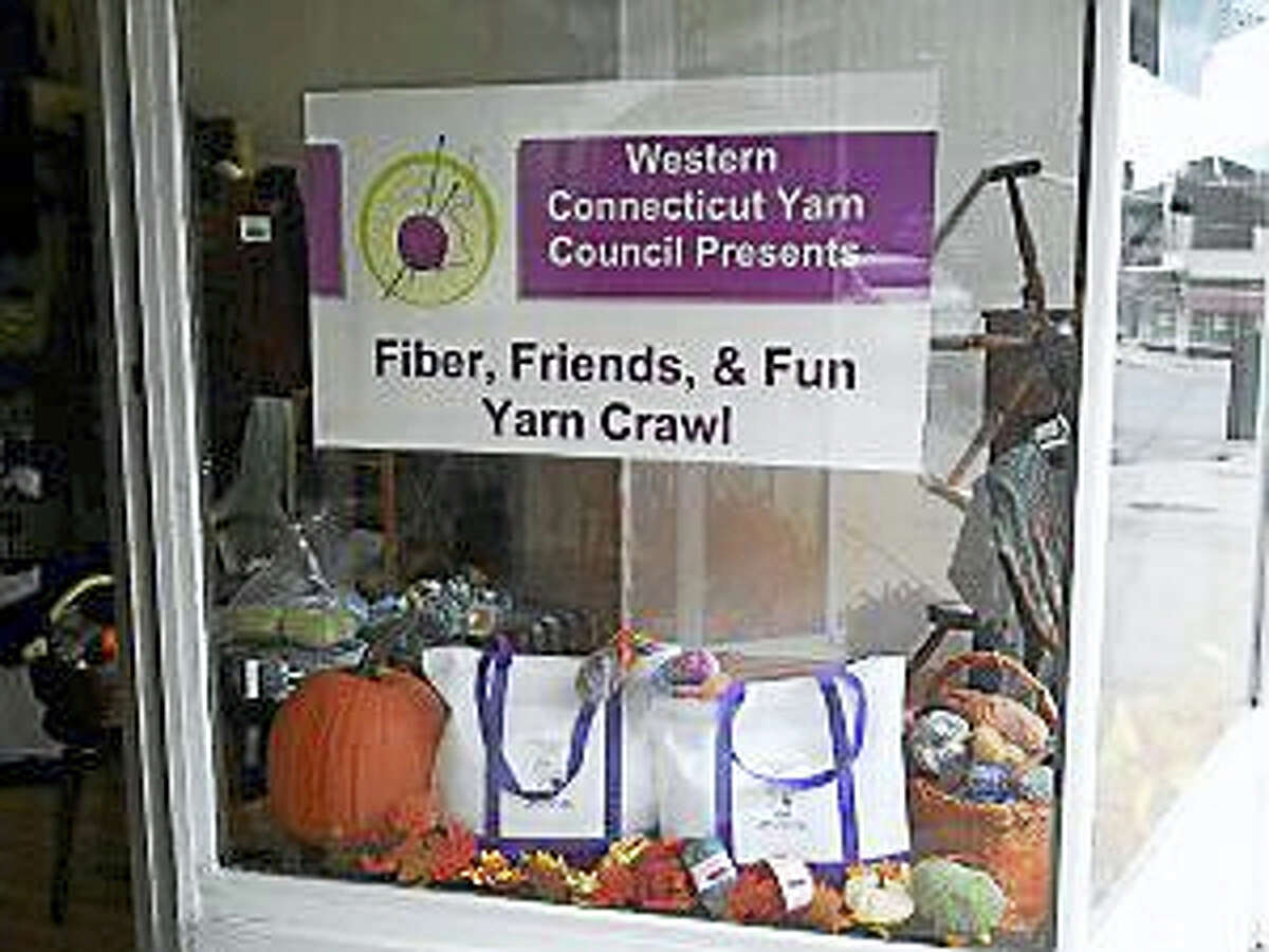Photo by Ginger BalchIn Sheep's Clothing is preparing for the annual Yarn Crawl.