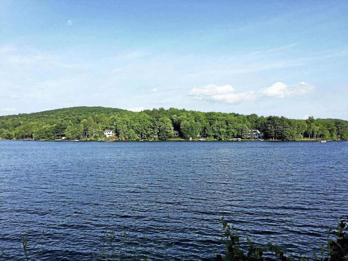 Highland Lake in Winsted, as seen Tuesday. The Planning and Zoning Commission voted Monday to eliminate a regulation governing the expansion of existing nonconforming properties, including those around the lake.