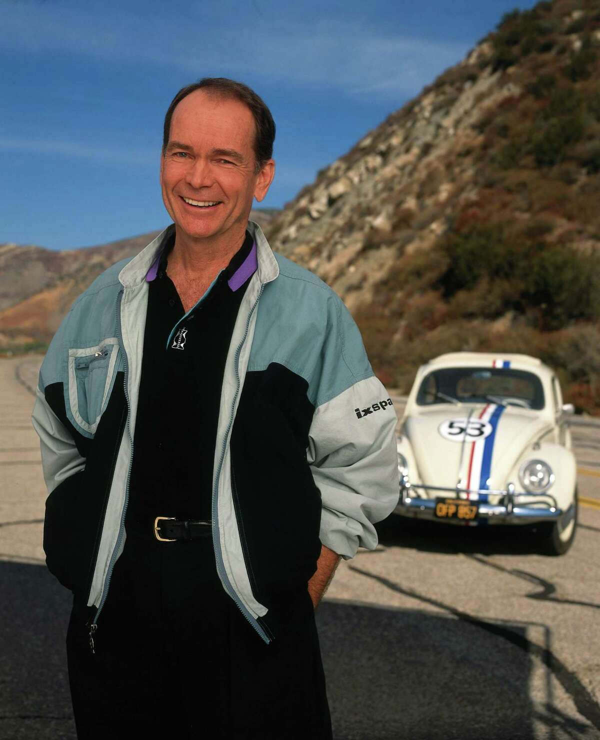 """This 1997 photo provided by ABC shows actor Dean Jones, who starred in the Disney classic film """"The Love Bug"""" and the later television remake of the film. Jones, whose boyish good looks and all-American manner made him Disney's favorite young actor for such lighthearted films as """"That Darn Cat!"""" and """"The Love Bug,"""" has died of Parkinson's disease. He was 84."""