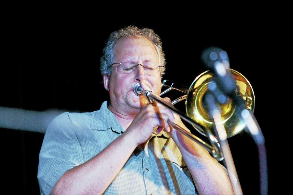 Contributed photoTrombone player Peter McEachern.