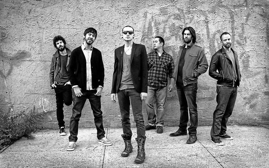 Contributed photo  The Grammy Award winning, multi-platinum Alternative Rock band Linkin Park is set to perform at the Mohegan Sun Arena in Uncasville on Friday night Jan. 30. The group is comprised of co-lead vocalist, Chester Bennington, drummer, Rob Bourdon, guitarist Brad Delson, bassist Dave ìPhoenixî Farrell, DJ, programmer Joe Hahn and Mike Shinoda on co-lead vocals, keyboards, guitar. For tickets or more information on this upcoming concert, call 888-226-7711 or visit www.mohegansun.com. Photo: Journal Register Co.