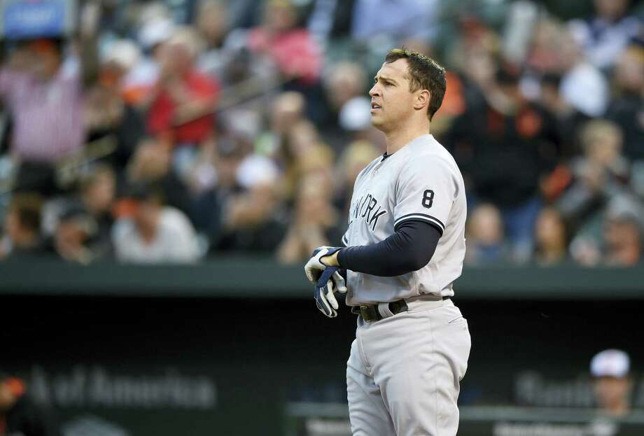 Yankees' first baseman Mark Teixeira is the latest palyer for New York to suffer through injuries, dealing with neck spasms that could leave him out of the lineup for a couple of days. Photo: The Associated Press  / FR67404 AP