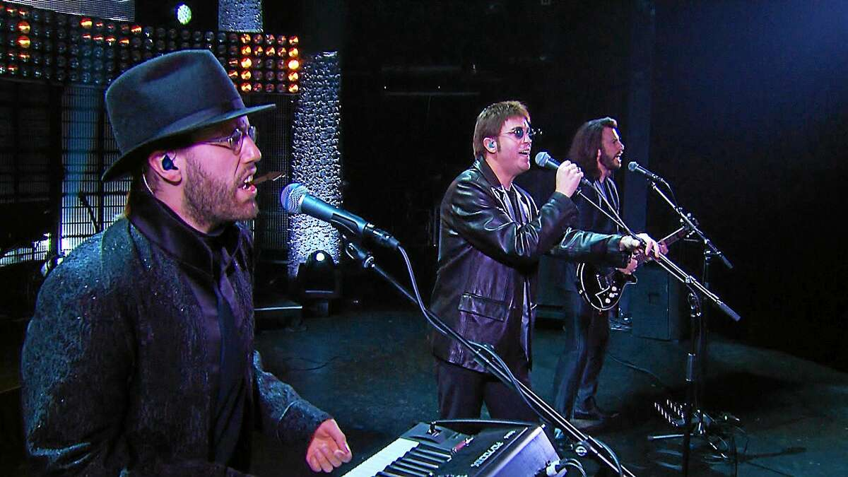 Members of the Australian Bee Gees Show will perform the group's favorite hits at the Palace Theater in Waterbury in February.