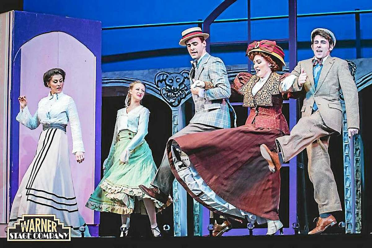 """Contributed photo Cast members of the musical """"Hello, Dolly!"""" perform a number on the stage of the Warner Theatre in Torrington."""