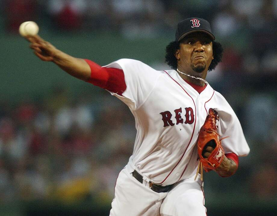 Former Boston Red Sox pitcher Pedro Martinez has been elected to the Baseball Hall of Fame on Tuesday. Photo: Charles Krupa — The Associated Press File Photo  / AP