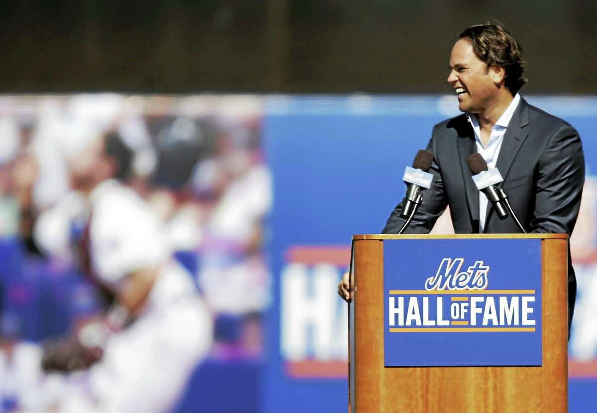 Former New York Mets catcher Mike Piazza was not elected to the Baseball Hall of Fame on Tuesday.