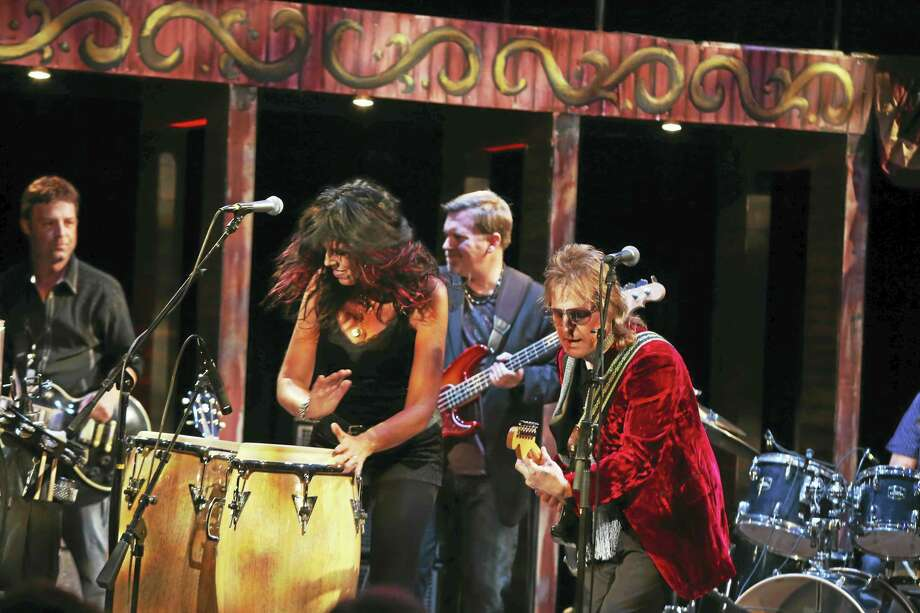 Contributed photoLucinda & Michael kick off their CD tour at the Warner Theatre Jan. 9. Photo: Journal Register Co.