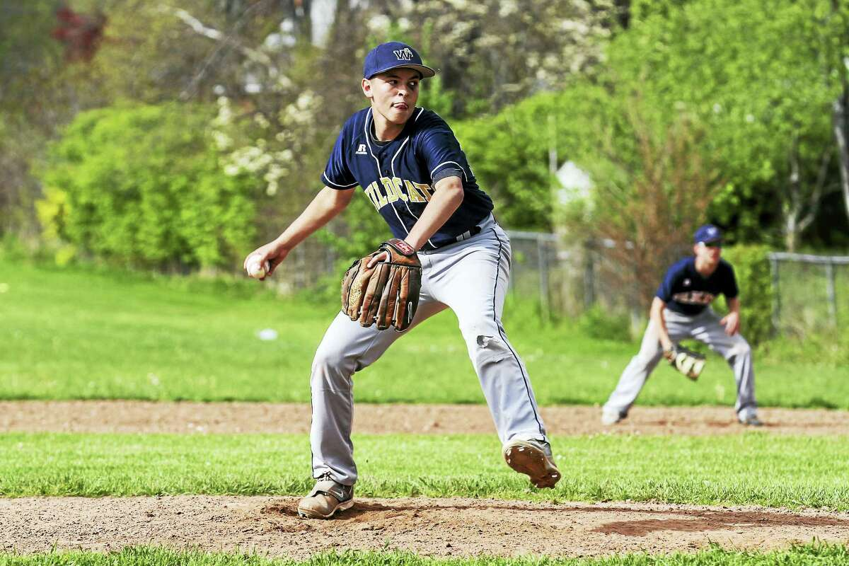 Winning pitcher D.J. Reynolds went four innings on the mound, then added to the Wolcott Tech's run totals with four RBIs Tuesday afternoon at Wolcott Tech High School.