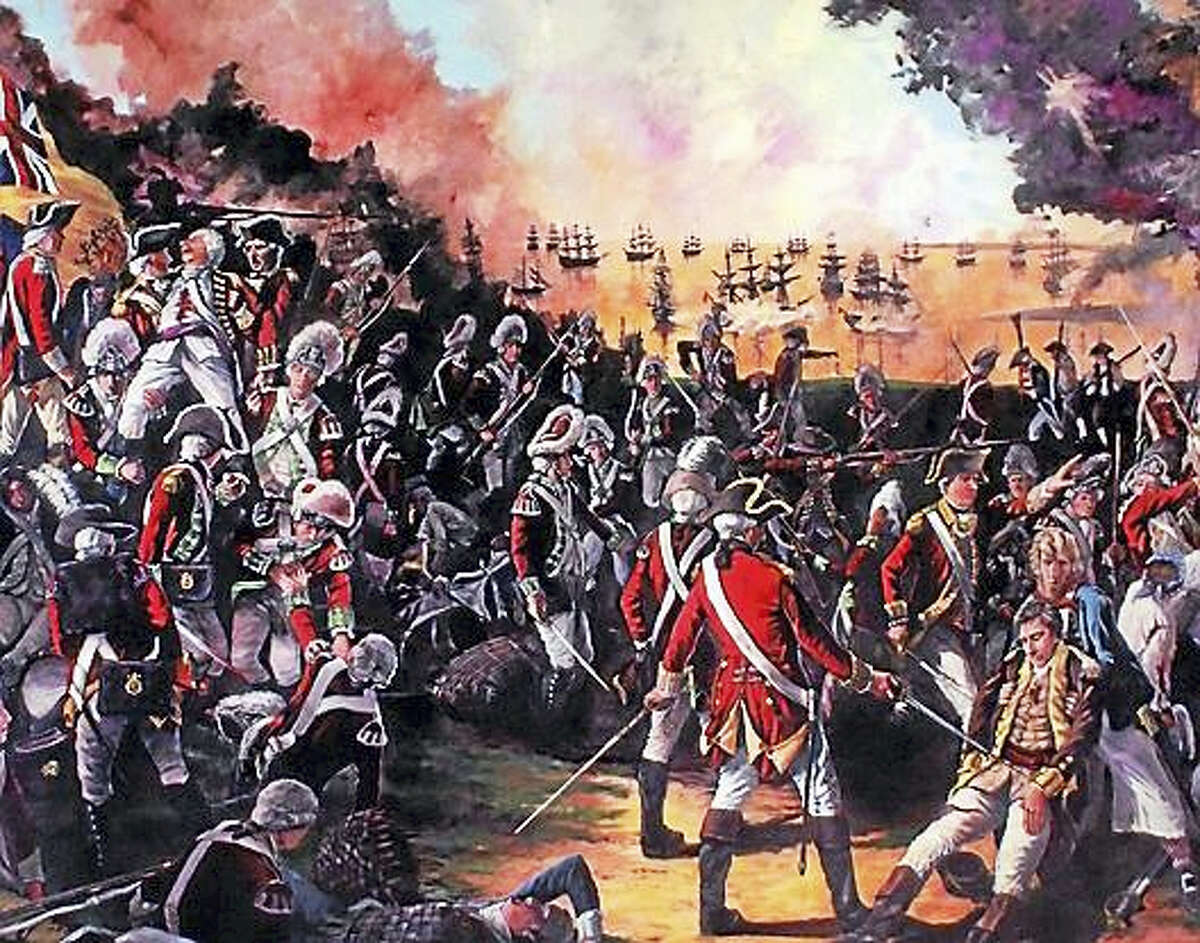 Contributed photo Author Eric D. Lehman will present in his recent book, Homegrown Terror: Benedict Arnold and the Burning of New London, at the Kent Historical Society.