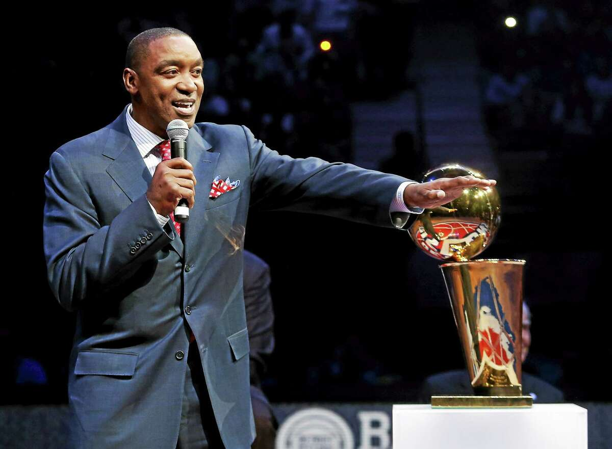 Isiah Thomas has been hired as team president of the New York Liberty.