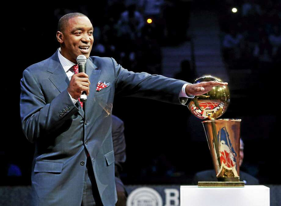 Isiah Thomas has been hired as team president of the New York Liberty. Photo: Duane Burleson — The Associated Press File Photo  / FR38952 AP