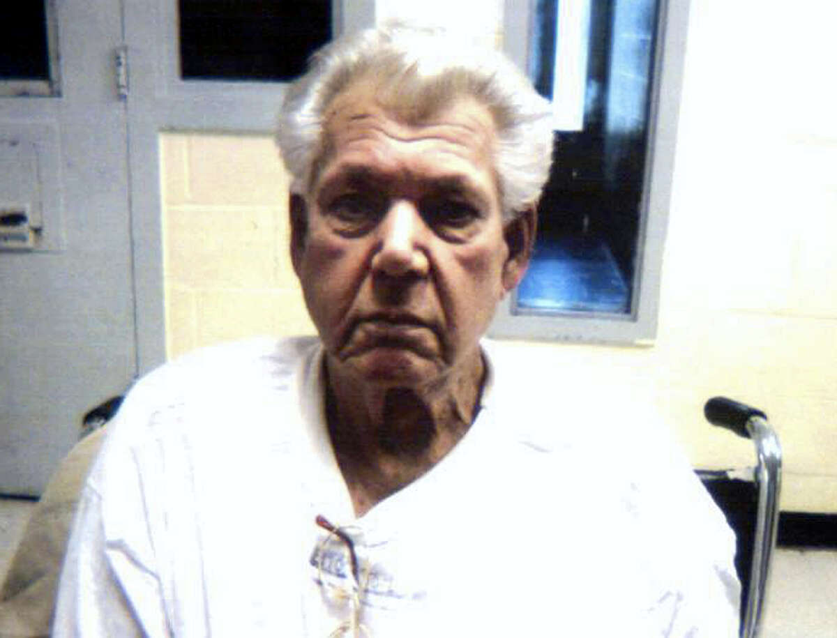 This photo released by the Connecticut Department of Correction shows Robert Stackowitz, 71, arrested May 9, 2016 by U.S. Marshals and Connecticut State Police in Sherman.
