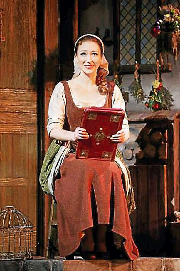 Photo courtesy of the Bushnell Performing Arts CenterCinderella anticipates her future in a scene from the musical, being presented at the Bushnell in Hartford. Photo: Journal Register Co.