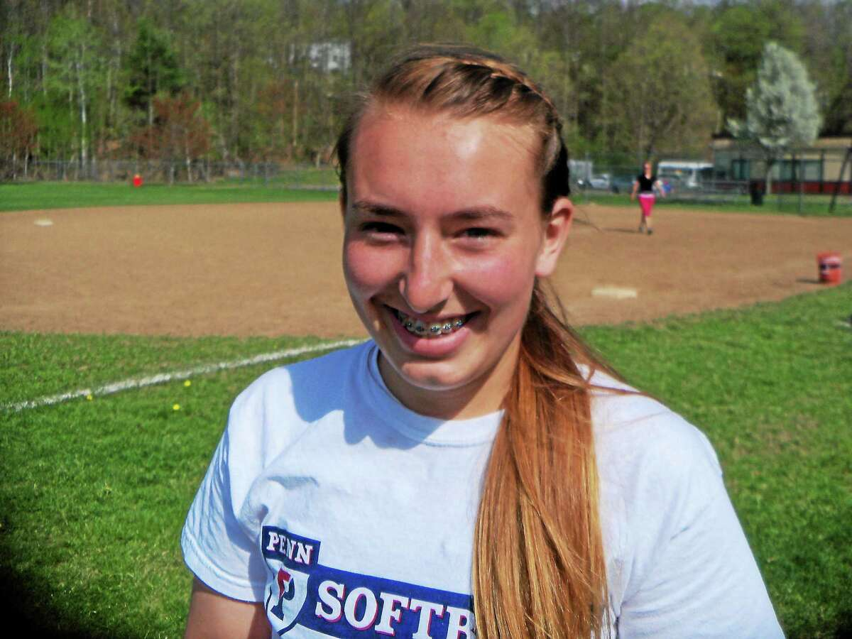 eter Wallace — Register Citizen Torrington sophomore Ali Dubois pitched her first varsity no-hitter a week-and-a-half ago in a 12-0 Red Raider win over Ansonia.