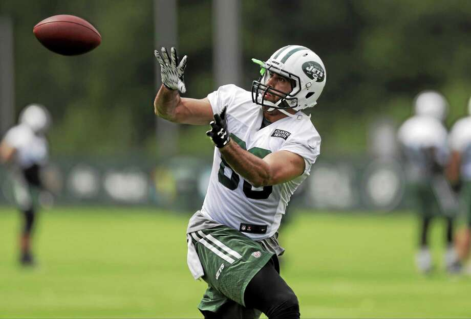 New York Jets tight end Jace Amaro is out for the season. Photo: Frank Franklin II — The Associated Press File Photo  / AP