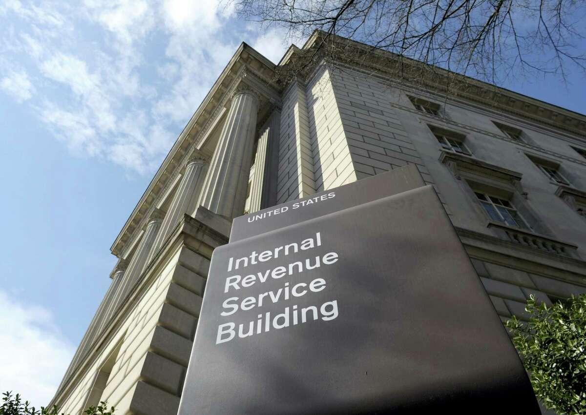 In this March 22, 2013 photo, the exterior of the Internal Revenue Service (IRS) building in Washington.