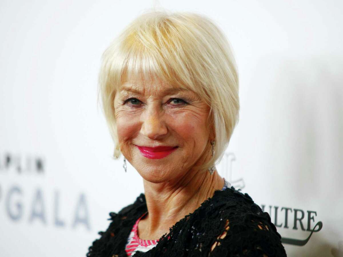 In this April 25, 2016 photo, Helen Mirren attends the 43rd Chaplin Award Gala Honoring Morgan Freeman in New York. Older people are significantly underrepresented in movies, an analysis of top films has found. Mirren is among just three women out of 10 older actors in lead roles cited in the study.